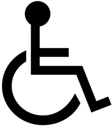 handicapped accessible logo